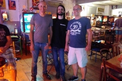 Die Sieger von links nach rechts: 3. Greg Siegele, 1. Roberto Pedroni, 2. Luca Plotzner